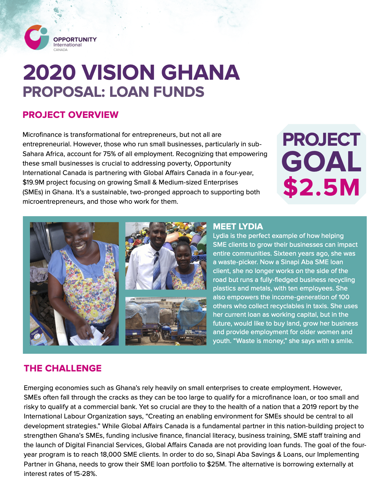Ghana_Loan Funds_Proposal 2020